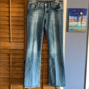 Vigoss Midrise Boot Cut Jeans